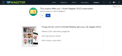 Free Magzter Gold 1 Month Subscription 04