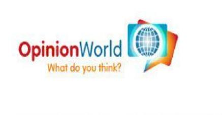 OpinionWorld Survey Free PayTM Cash