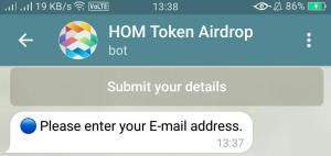 HOM Airdrop Refer and Earn 06