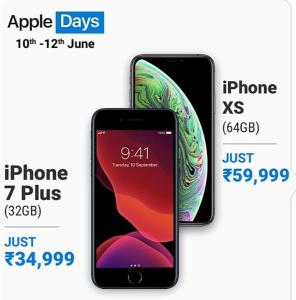 Flipkart Apple Days Sale 2020