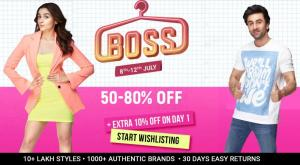 Flipkart Boss Fashion Sale
