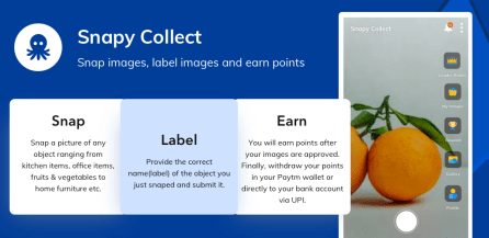Snapy Collect Refer and Earn