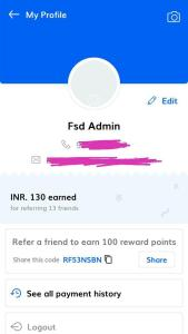 Snapy Collect Refer and Earn 09
