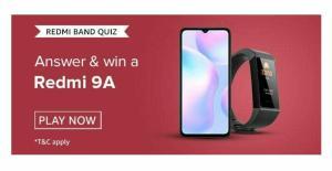 Amazon Redmi Brand Quiz Answers