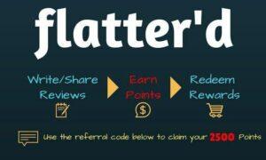 Flatterd App Refer and Earn