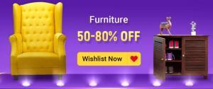 Flipkart The Big Billion Days Sale for Furnitures