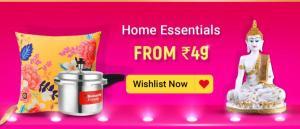Flipkart The Big Billion Days Sale for Home Essentials