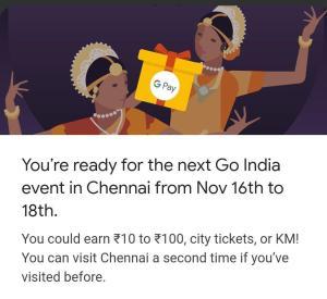 Google Pay Go India Chennai Event Answers