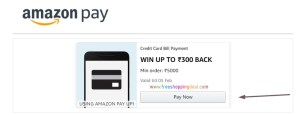 Amazon Credit Card Bill Pay Offer 04