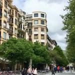 スペイン サン・セバスチャンの街歩き