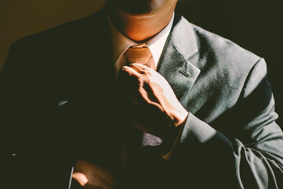 Headhunter - Gravata, Ajustar, Ajustando, Homem, Negócios