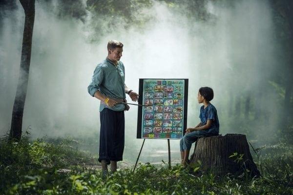 Como ser um pai presente na educação dos filhos