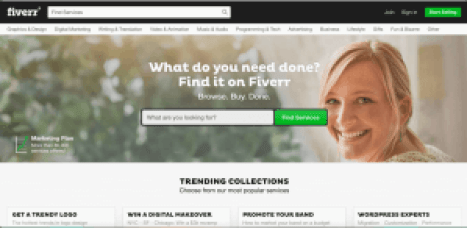 fiverr free sites like upwork