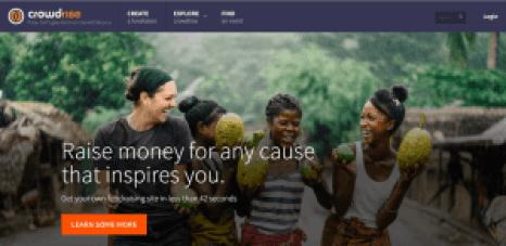 crowdrise sites like kickstarter