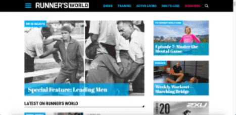 runner's world magazine for men