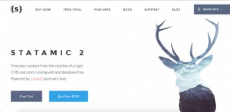 statamic 2 free sites like wordpress