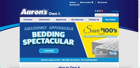 aaron's rent to own it sites like mdg