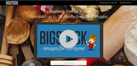 bigstock sites like fotolia