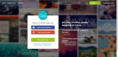 free sites like photoshop canva