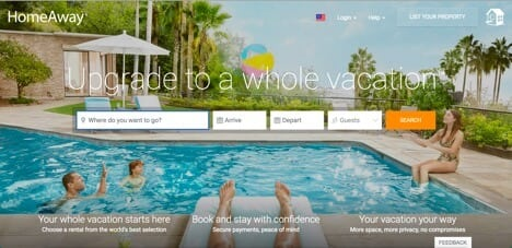 homeaway sites like airbnb