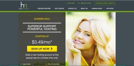 hostmonster hosting like ipage