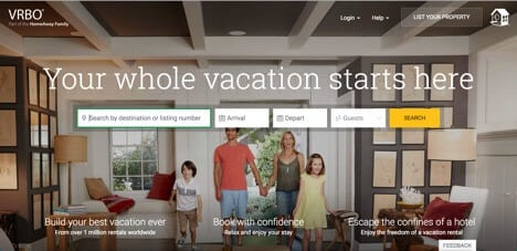 vrbo sites like airbnb
