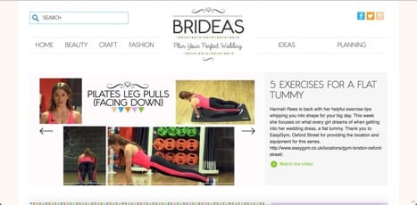 video sites for brides