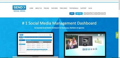 Send Social Media Hootsuite Alternative