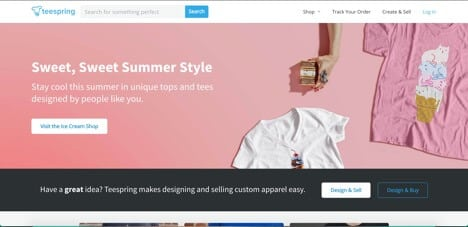Sites like Teespring