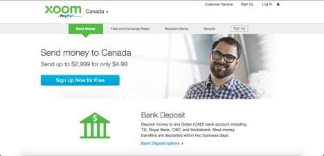 Sites like PayPal xoom