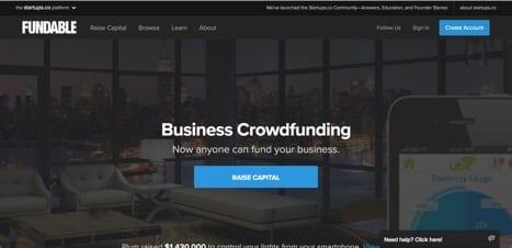 Sites like Fundable