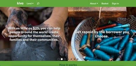 Sites like Kiva