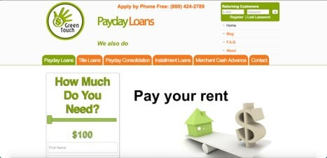 Green Touch loans
