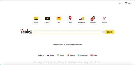 Sites like yandex
