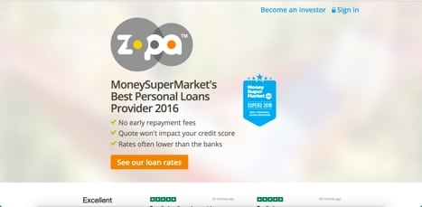 Sites like zopa