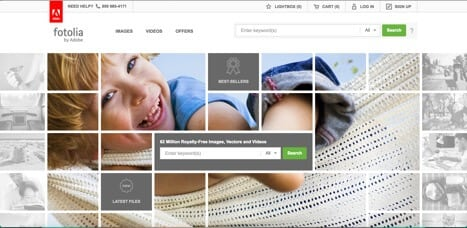 Sites like Fotolia