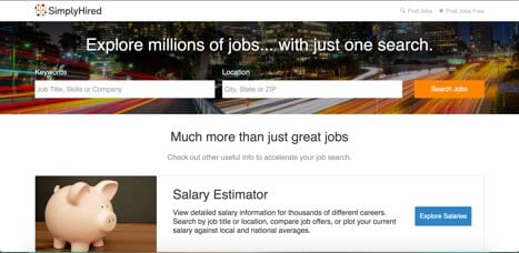 Sites like SimplyHired