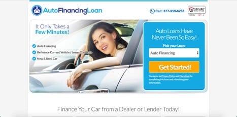auto financing loan