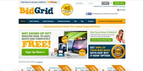 Sites like BidGrid