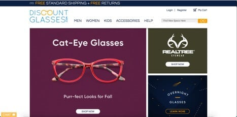 sites like discount glasses