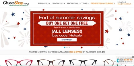Sites like glasses shop