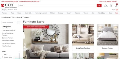 sites like overstock