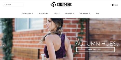 strut this apparel
