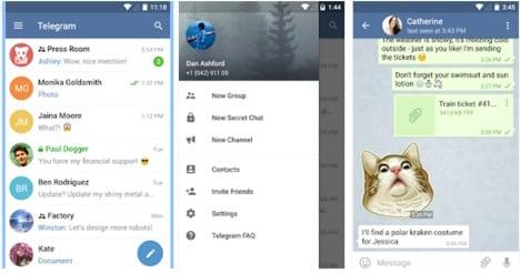 apps like telegram