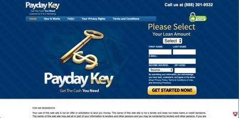 payday key