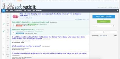 ask reddit