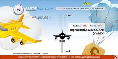 speedy payday loan