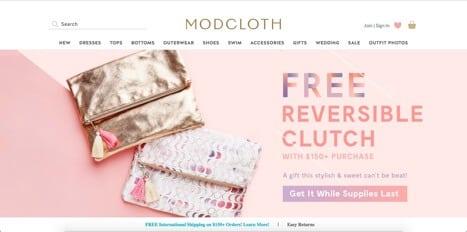 stores like modcloth