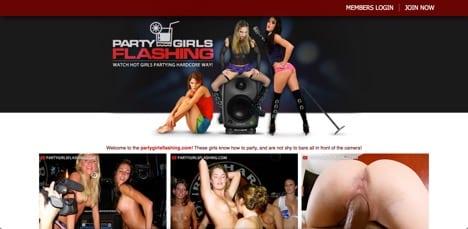 Party Girl Flashing