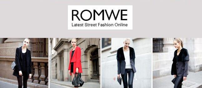 7 Runway Clothing Sites Like Romwe